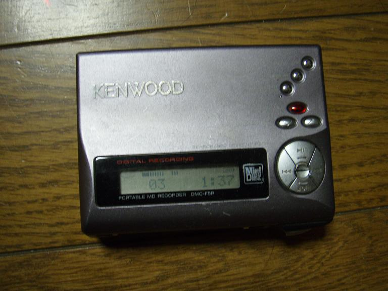 KENWOOD DMC-F5R